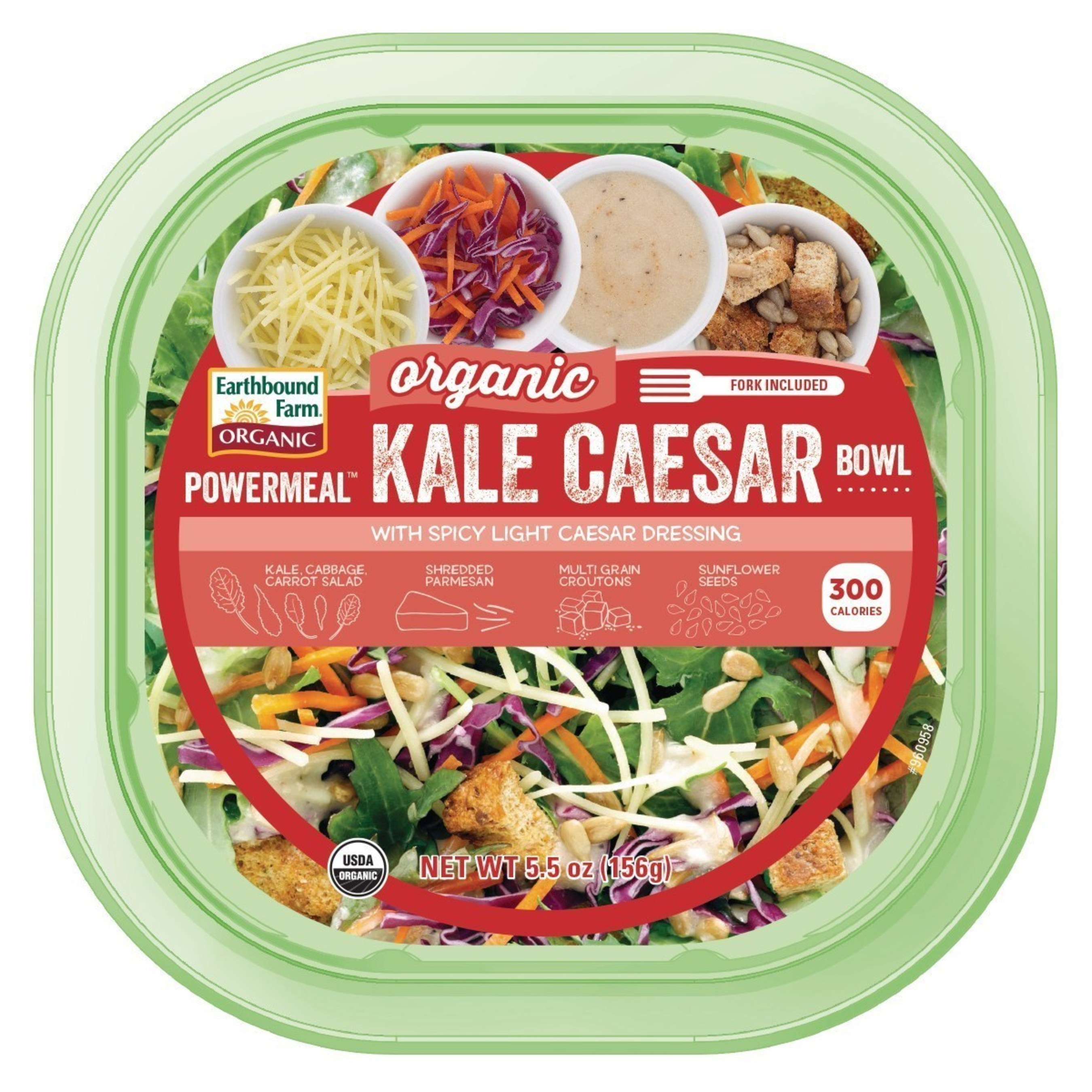 Earthbound Farm Launches New Organic Kale Caesar PowerMeal Bowl