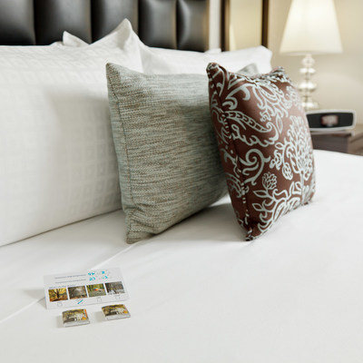 Distrikt Hotel Guest Bed (PRNewsFoto/Simmons Bedding Company)