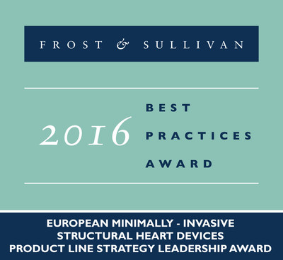 Occlutech Receives 2016 European Minimally - Invasive Structural Heart Devices Product Line Strategy Leadership Award