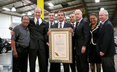 CODA Holdings Celebrates Global Headquarters Grand Opening Ceremonies with California Governor Jerry Brown and Los Angeles Mayor Antonio Villaraigosa