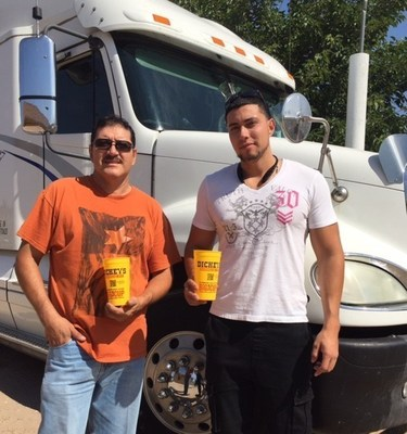 Hilario and Hugo Gonzales will own three Dickey's Barbecue Pit locations in El Paso, TX