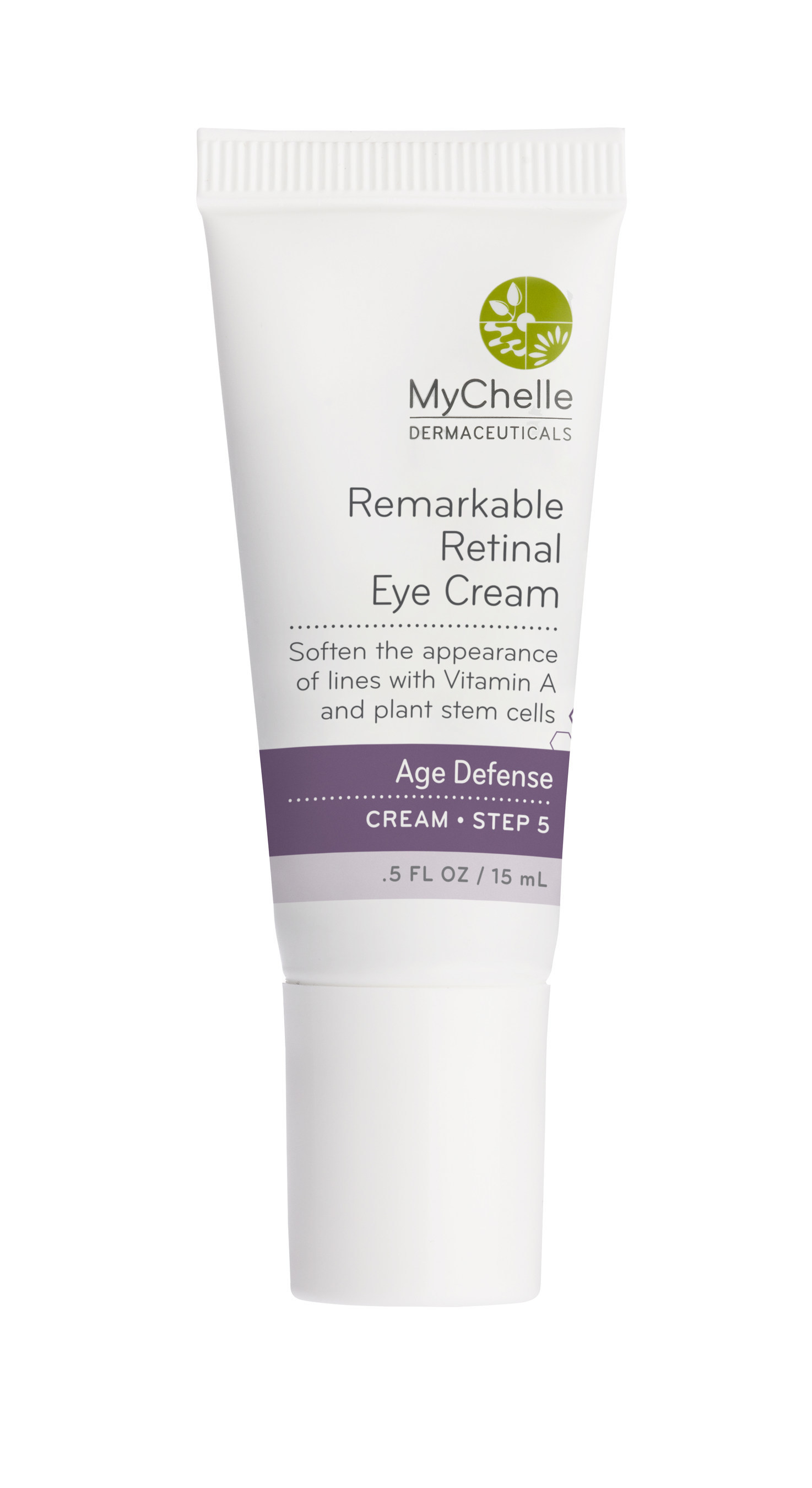 The MyChelle Remarkable Retinal Eye Cream (MSRP $35.50/.5 oz.) is gentle, ultra-moisturizing and highly effective in treating the delicate skin around the eyes. Crocus Chrysanthus Bulb Extract is used to stimulate natural collagen production and Citrustem(R) Orange Plant Stem Cells are proven to increase cellular activity to strengthen skin elasticity. Learn more at www.mychelle.com