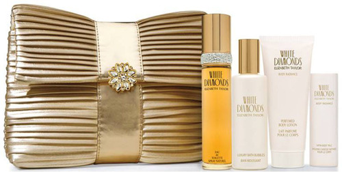Pamper your love with the glamorous White Diamonds Elizabeth Taylor Valentine's Day Gift Set complete with ...