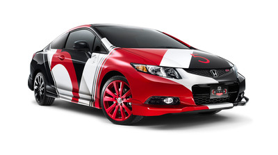 2013 Honda Civic Tour Featuring Maroon 5 is Best-Selling Trek in Tour's 12-year History.  (PRNewsFoto/American Honda Motor Co., Inc.)
