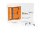 Cardium's Excellagen is a new FDA-cleared highly-refined fibrillar collagen-based topical gel (2.6%) designed to support favorable wound care management.  Excellagen's unique high molecular weight bovine Type I collagen formulation is topically applied through easy-to-control, pre-filled, single use syringes. Excellagen is intended for physician use following surgical debridement in the presence of blood cells and platelets, which are involved with the release of endogenous growth factors.  To learn more about Excellagen and for product ordering information, please visit www.excellagen.com and view the informational video, Excellagen: A New Wound Care Pathway for Diabetic Foot Ulcers, at http://www.youtube.com/watch?v=D2GYCYc_8JE.  (PRNewsFoto/Cardium Therapeutics)