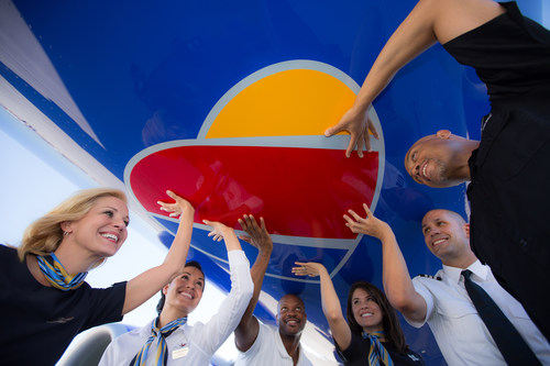 Southwest Airlines' Bold Look; Same #SouthwestHeart (PRNewsFoto/Southwest Airlines) (PRNewsFoto/Southwest Airlines)