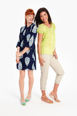 The brand offers a variety of casual and Southern styles with a modern twist.  (PRNewsFoto/Belk, Inc.)