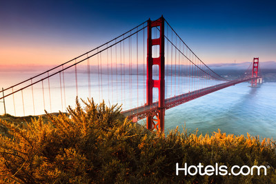 To make selecting the perfect Bay Area hotel a bit more obvious, Hotels.com(R) today recognized the top San Francisco hotel properties based on reviews from travelers who have actually stayed in the hotels. (PRNewsFoto/Hotels.com)