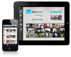 Blurb Mobile's new Story Stream instantly shares your personal stories with friends. The application is also now available in an enhanced version for iPad.  (PRNewsFoto/Blurb(R))