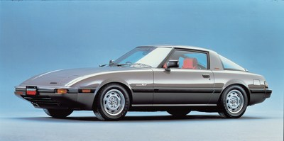 1985 Mazda RX-7 to participate in Touge California Vintage Car Rally