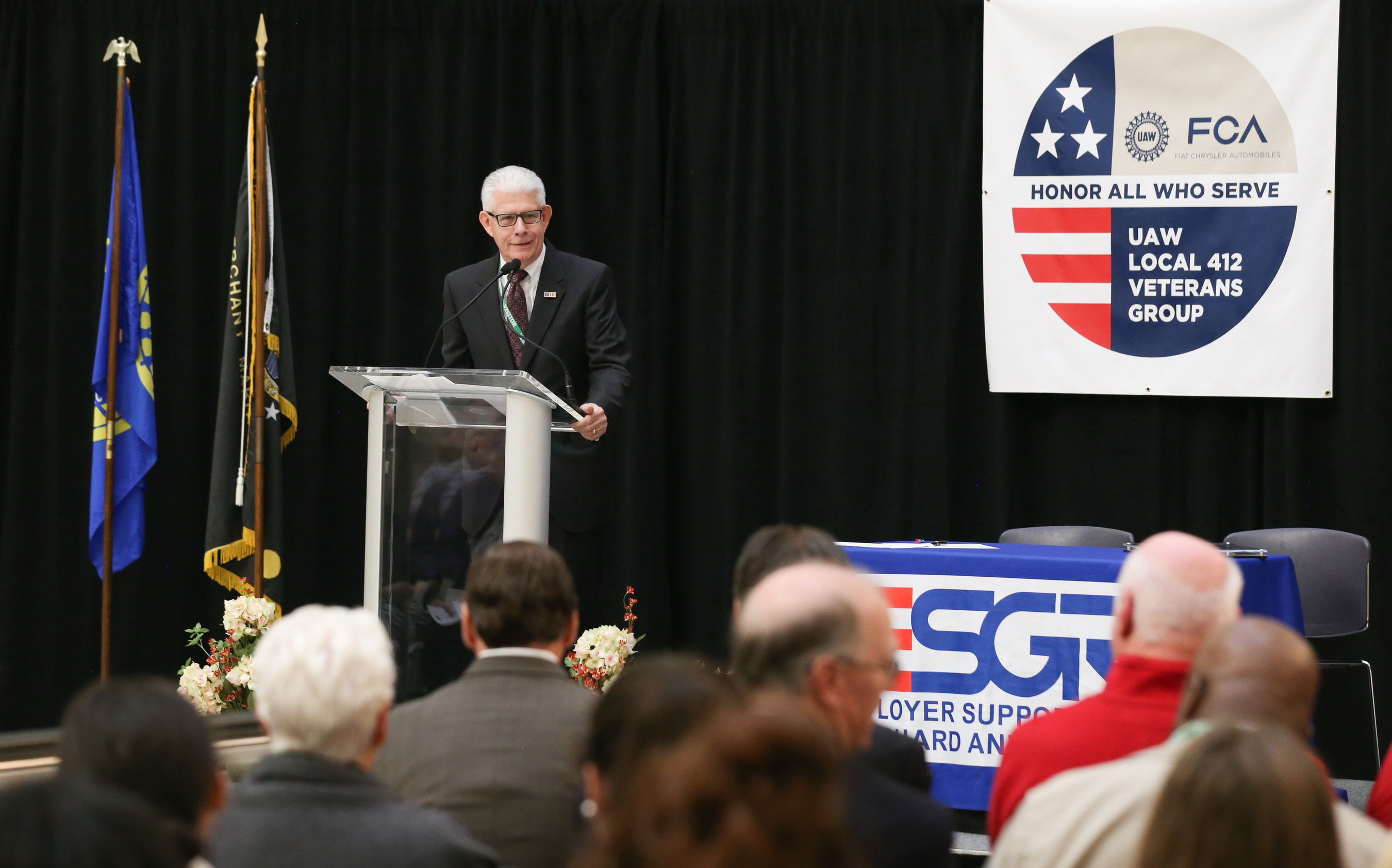 Tom Bullock of ESGR described the intent of the Statement of Support.