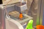 3D printing demonstration. (PRNewsFoto/UBM Canon) (PRNewsFoto/UBM CANON)
