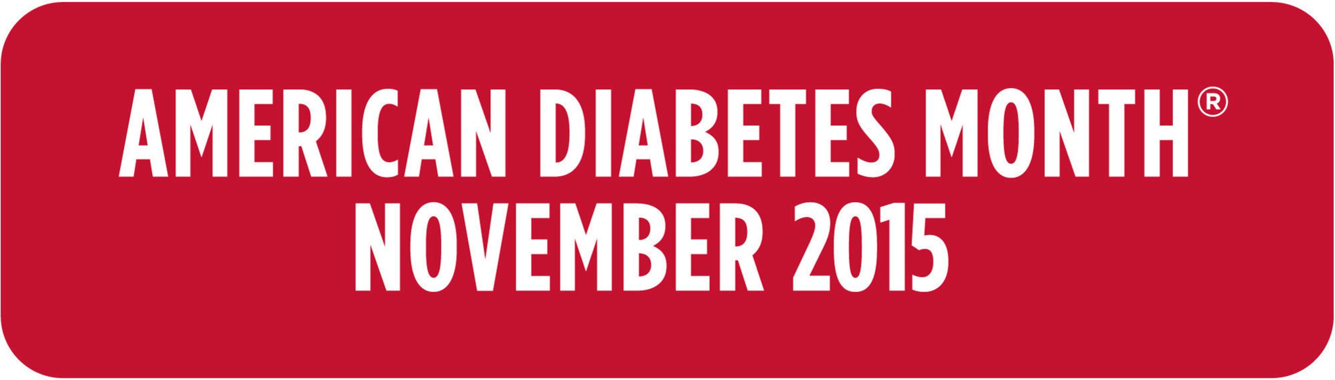 American Diabetes Month November 2015