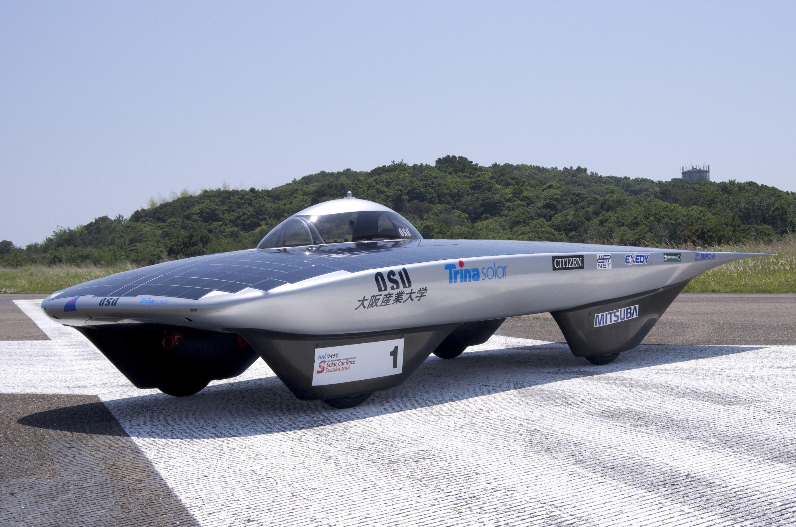 Trina Solar Provides Osaka Sangyo University with its High Efficiency IBC Cells to Build a Solar Car