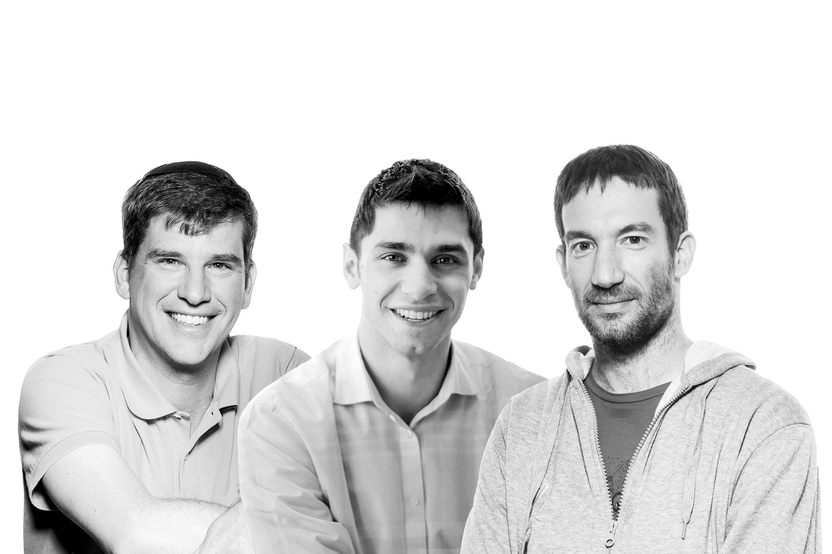 The Aleph Partners: Michael Eisenberg, Aaron Rosenson and Eden Shochat