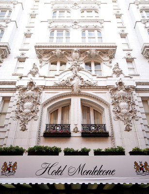 """The Hotel Monteleone, the """"Grand Dame of the French Quarter,"""" is celebrating its 125th anniversary in 2011. Visit https://hotelmonteleone.com/125anniversary for a complete schedule of events all year long.  (PRNewsFoto/Hotel Monteleone)"""