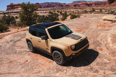 Jeep(R) introduces new Renegade Deserthawk and Altitude models at LA Auto Show