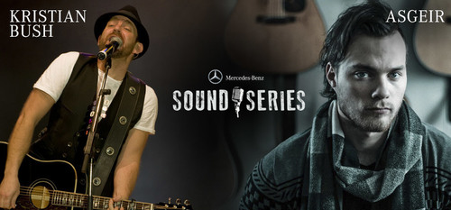 Loeber Motors is giving away four pairs of tickets to Asgeir and Kristian Bush performances through the Mercedes-Benz Sound Series. (PRNewsFoto/Loeber Motors)
