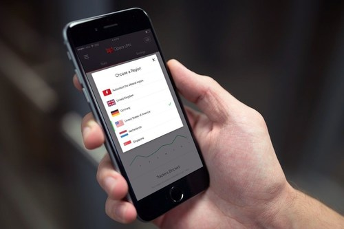 Free and Unlimited VPN App for iPhone and iPad Available Today (PRNewsFoto/Opera Software AS)