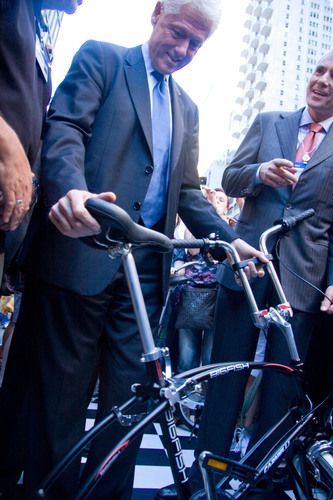Folding Bikes Take Center Stage at Clinton Global Initiative Annual Meeting; Sustainable Solution