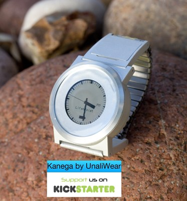 Kanega by UnaliWear launches on Kickstarter today