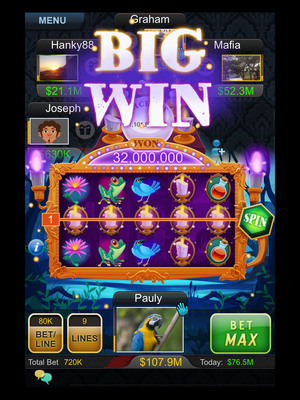 Big Fish Casino, the #1 mobile social casino, has just added a new slot machine -- Fate's Fortune. In this new slot, you can enjoy all of Big Fish Casino's bonus features, such as unique social slot bonus features where individual players can trigger group bonuses or scatters that result in group payouts. Set in the mysterious bayou, your luck changes in this game once you hit a scatter, as you can then pick a card to reveal your fate. Enjoy free spins, free tickets, free gold or chips to extend your gameplay. (PRNewsFoto/Big Fish) (PRNewsFoto/BIG FISH)
