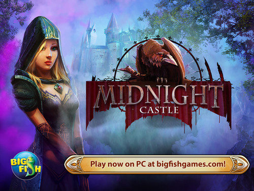 """Midnight Castle"" adds to Big Fish's PC catalog of free-to-play games. The game is a beautiful mystery adventure set on a magical estate inherited from your eccentric uncle, but it comes with some deep dark secrets. Developed by Elephant Games, this adventure takes you on a quest to find the Mystery Chamber. Along the way, you will play hidden object scenes, gather gold and meet interesting characters and creatures. (PRNewsFoto/Big Fish) (PRNewsFoto/BIG FISH)"