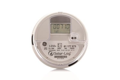 The Solar-Log(R) & GE Meter is a cellular-based, revenue grade, solar PV monitoring device that is simple to install and easy to use. A compact design with proven Solar-Log(R) technology and GE's I-210+ residential meter. Options include consumption monitoring, inverter direct, power management, and weather station. Includes 5 years of cellular data plan and Solar-Log(R) WEB monitoring. www.solar-log.net