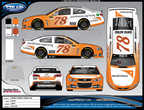 Truex Jr.'s No. 78 Chevrolet to Showcase World Vision As The Primary Paint Scheme at Kentucky Sprint Cup Race (PRNewsFoto/World Vision)