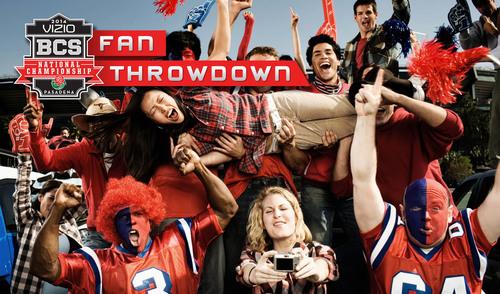 VIZIO 2014 BCS National Championship Fan Throwdown Invites Loyal Fans to Prove Their Fandom to Win ...