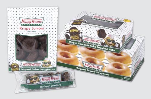 Krispy Kreme Rolls Out New Branded Packaging in Grocery Stores