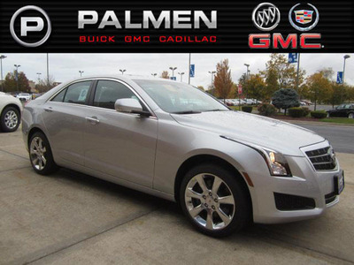 The 2013 Cadillac ATS is ready to roll at Palmen Buick GMC Cadillac.  (PRNewsFoto/Palmen Buick GMC Cadillac)