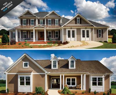 Builder model homes