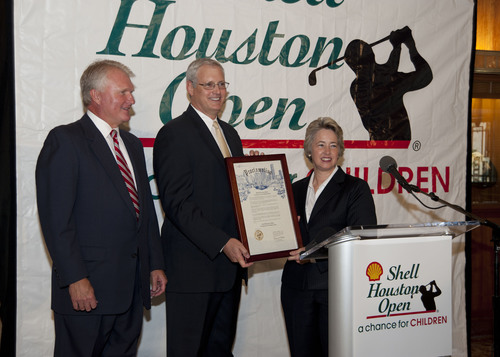 $2,145,000 Charitable Donation Announced by Shell Houston Open Officials