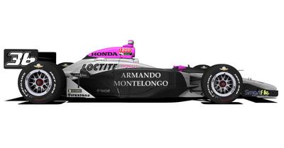Celebrity real estate expert Armando Montelongo sponsors first British female race car driver in the Indy 500. ArmandoLive.com.  (PRNewsFoto/Armando Montelongo)