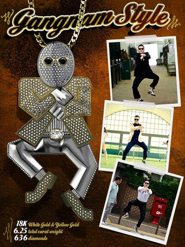 Gangnam Pendant.  (PRNewsFoto/Brilliance)