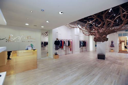 The British Designersâeuro(TM) Collective boutique, Bicester Village (PRNewsFoto/Bicester Village)