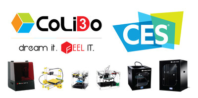 CoLiDo 3D Printers will make their first appearance at CES on 6-9 Jan 2016 at Sands Expo, Las Vegas