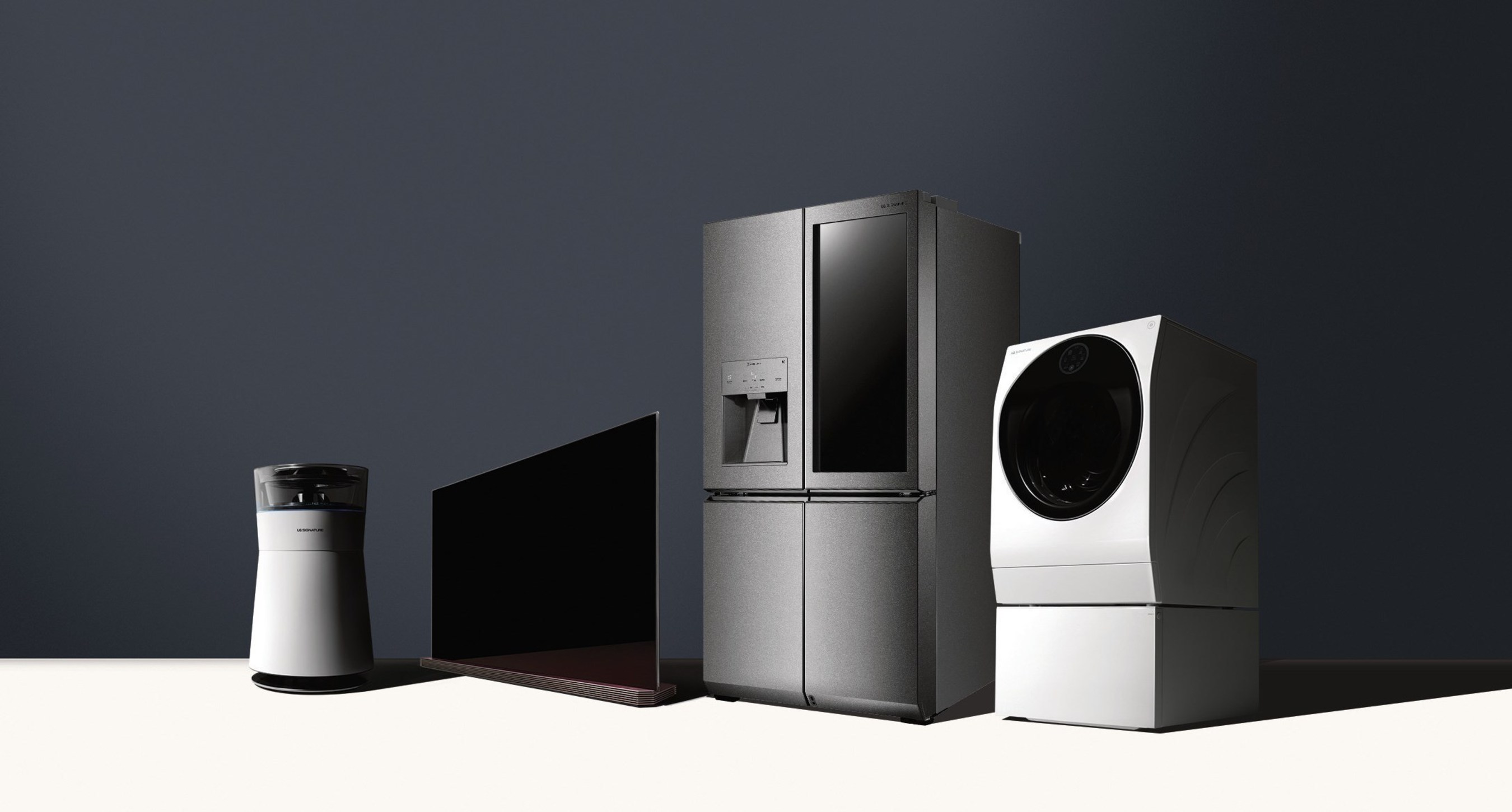 LG SIGNATURE line of products