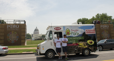 To reinforce Avocados from Peru's partnership with the Peruvian Brothers, the Peruvian Brothers' food trucks and several Washington, D.C. buses have been wrapped with beautiful images of Peru, fresh, ripe avocados and the colorful AFP logo.