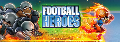 Football Heroes(TM) blazes past the competition. (PRNewsFoto/Run Games LLC) (PRNewsFoto/RUN GAMES LLC)