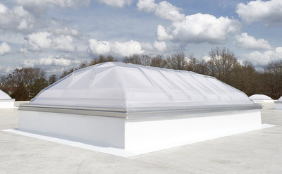 VELUX Dynamic Dome skylights balance light transmittance, industry structural demands, and architectural elegance while contributing significantly to reducing lighting costs.