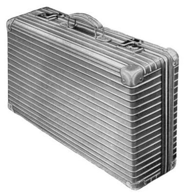 """RIMOWA 1950's original """"luggage with the grooves"""""""