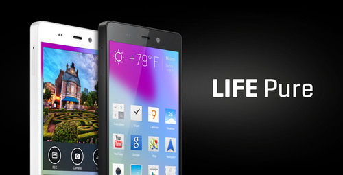 BLU Products introduces LIFE PURE smartphone device, featuring Stunning Design with Flagship Performance. ...