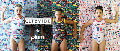 "Plum Practicewear's ""CityVibe"" Leotard Series Features Paris, NYC + London! Available at ..."