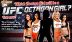 Hooters and UFC have Partnered to find a Hooters Girl to be a Guest Octagon Girl during the UFC 132: Cruz vs. Faber Fight.  Vote at www.facebook.com/Hooters.  (PRNewsFoto/Hooters of America, LLC)