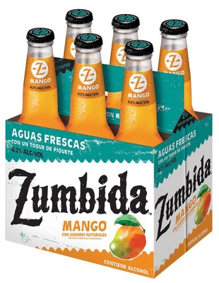 Zumbida Mango is available in  6-pack 12-ounce bottles at select retail locations in California and Texas, Las Vegas, Albuquerque, and  Denver.