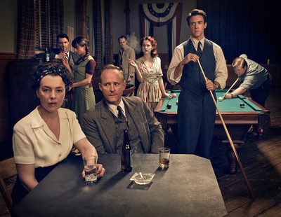 "WGN America's ""Manhattan"" was honored with an Emmy Award for Outstanding Main Title Design at the 67th Annual Creative Arts Emmy Awards at the Microsoft Theater in Los Angeles on Saturday, September 12, 2015."