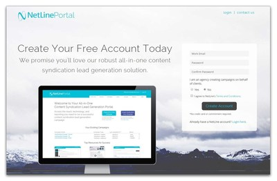 Empowering all B2B Marketers to achieve lead generation success - create your free account today to check out the new content syndication lead generation Portal from NetLine.
