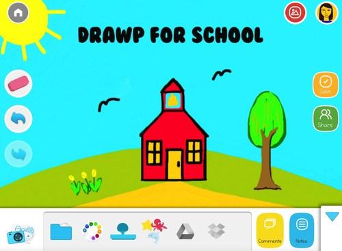 Drawp for School (PRNewsFoto/Moondrop Entertainment)